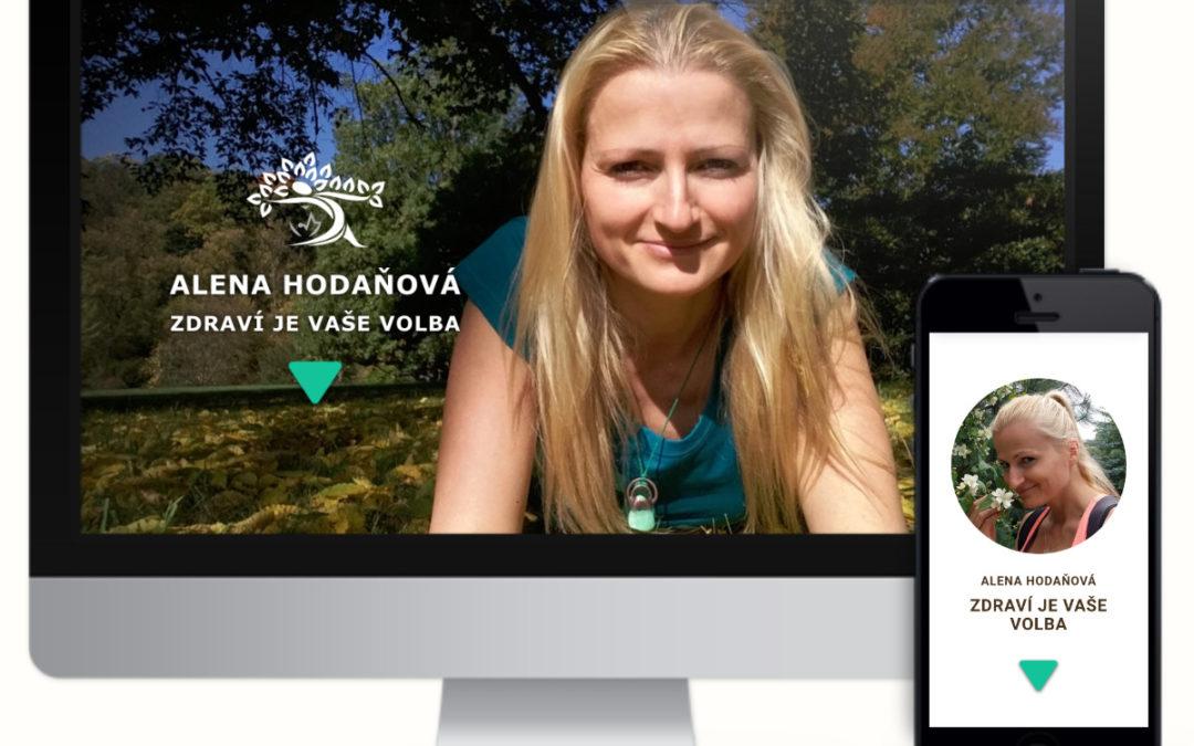 Alena Hodaňová – terapeutka přírodní mediciny