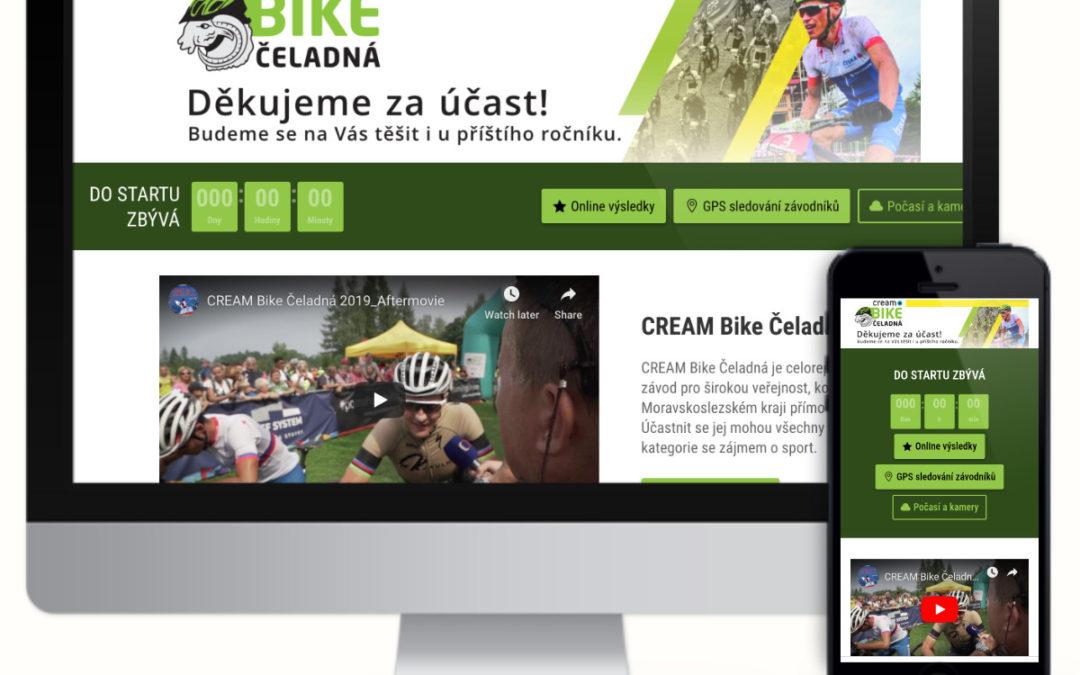 Bike čeladná – cyklistický závod v nádherné krajině