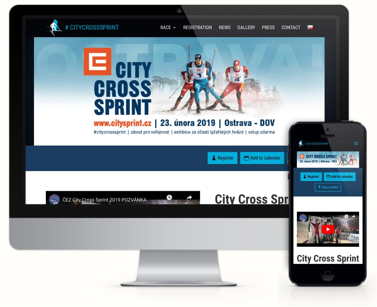 City Cross Sprint – závod na běžkach v Ostravě