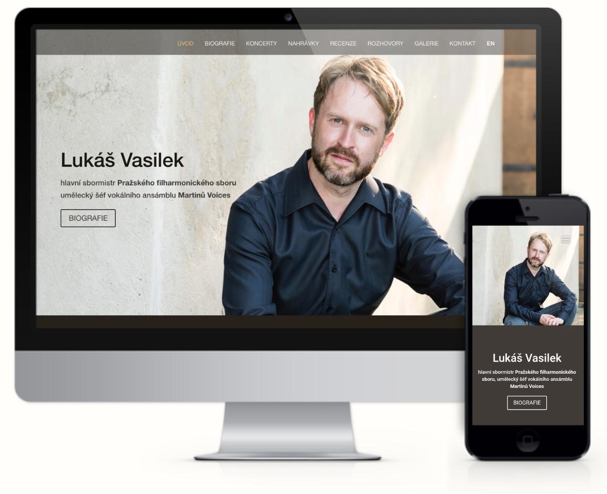 Lukáš Vasilek – hlavní sbormistr Pražského filharmonického sboru